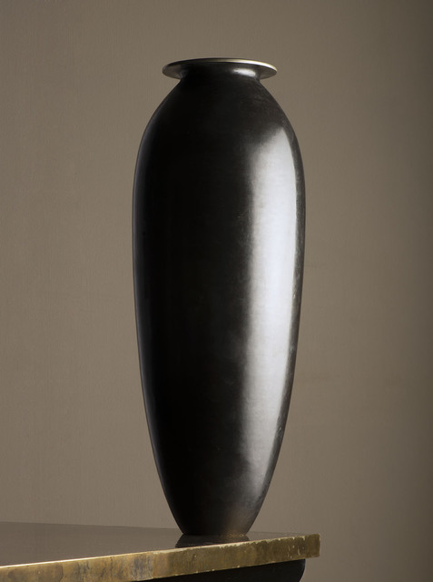 , 'Metal vase,' ca. 1915, VALLOIS