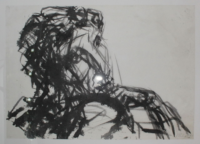 , 'Studie Kopf und Hand,' 1991, Galerie Klose