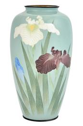 Japanese Cloisonné Enamel Vase