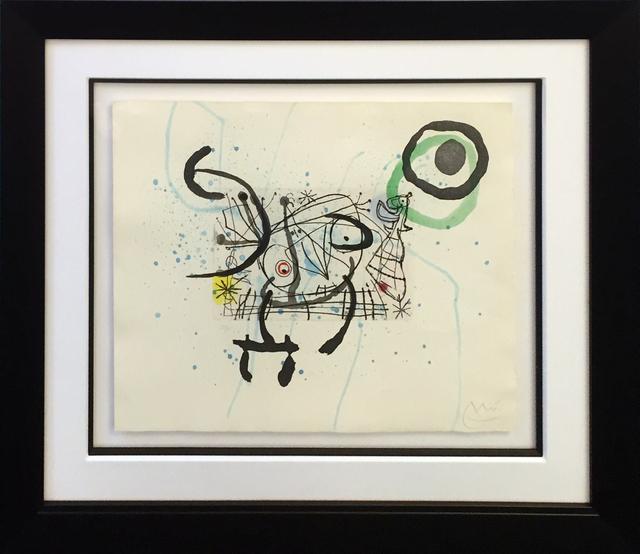 Joan Miró, 'FISSURES PLATE IX', 1969, Print, ETCHING AND AQUATINT, Gallery Art