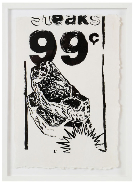 , 'Steaks 99 CENTS (F/S CAT. # IIIA.68),' 1985, Robert Fontaine Gallery