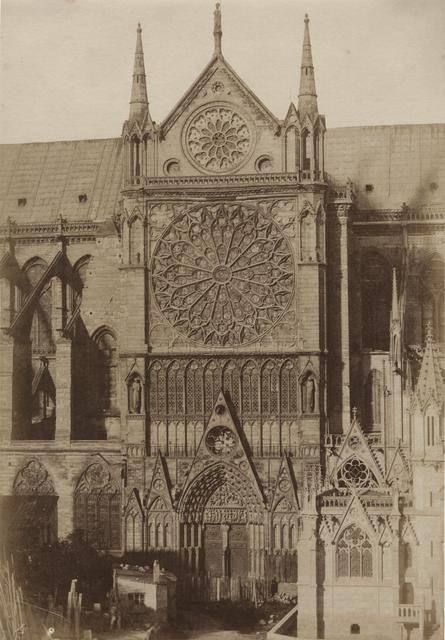 Jean-Louis-Henri Le Secq, 'Cathédrale Notre-Dame, portail méridional, Paris', 1851/1851, Contemporary Works/Vintage Works