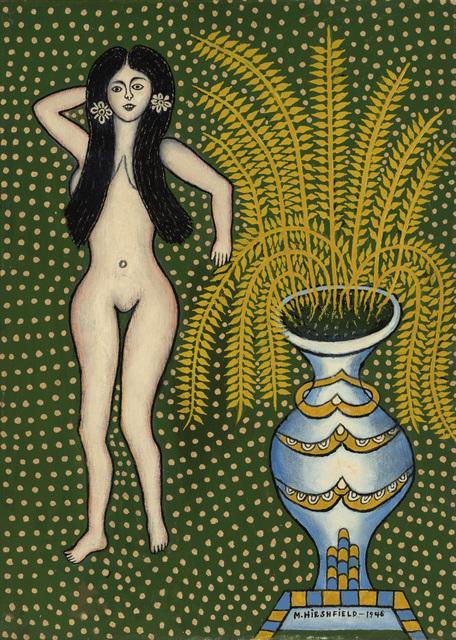 , 'Nude with Vase,' 1946, Ricco/Maresca Gallery