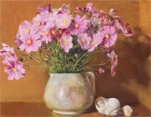 , 'Grandma's Pitcher with Cosmos,' 2009, Atrium Gallery