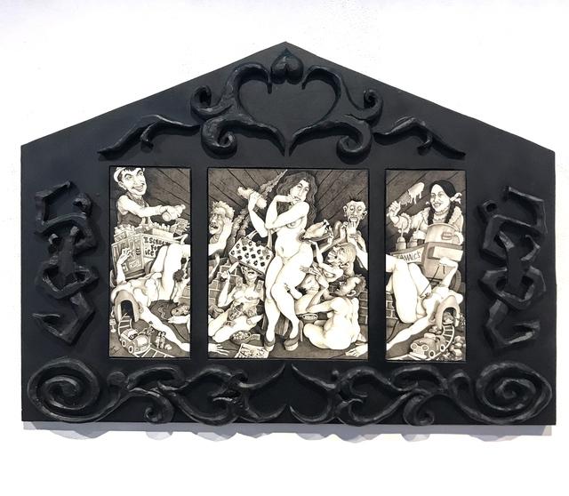 , 'Louis Glutton,' 2018, La Luz de Jesus Gallery