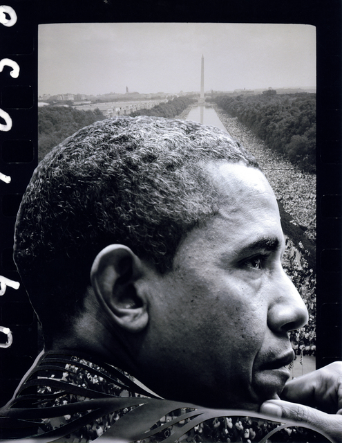 , 'Cross the Party Line: Obama and Monument  ,' 2017, Artist's Proof