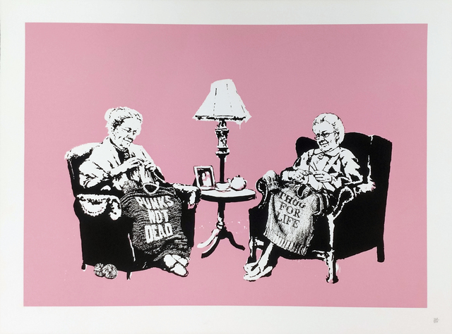Banksy, 'GRANNIES', 2006, Gallery Art