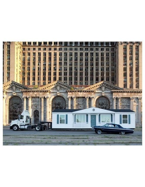 , 'Mobile Homestead,' 2010, Museum of Contemporary Art Detroit