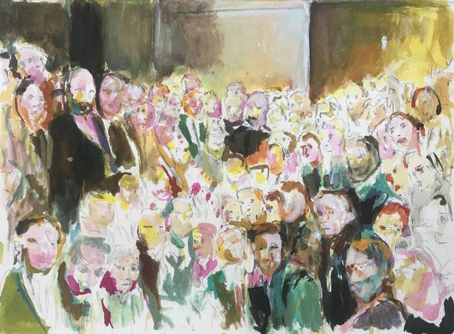 , 'Die Versammlung,' 2017, Galerie Kornfeld