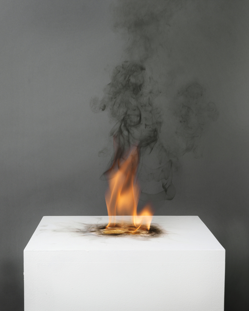 , 'Camphor Flame on Pedestal (0439),' 2010, Nature Morte