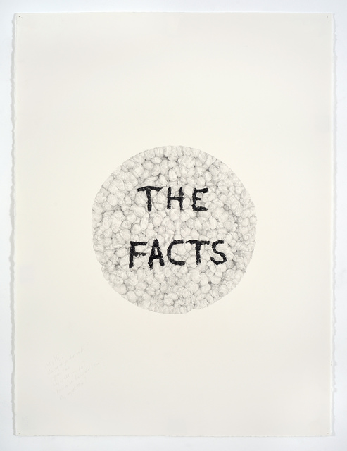 , 'The Facts (in a Rice Cake),' 2017, Mitchell-Innes & Nash
