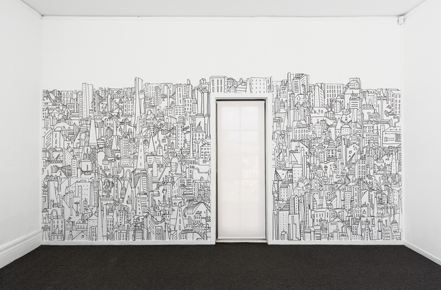 , 'Factory Wallpaper,' 2017, Charles Nodrum Gallery