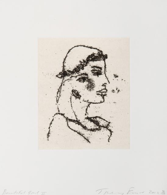Tracey Emin, 'Beautiful Girl II', 2014, Tate Ward Auctions