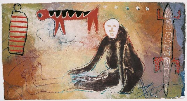 , 'The initiate,' 2003, Gallery AOP