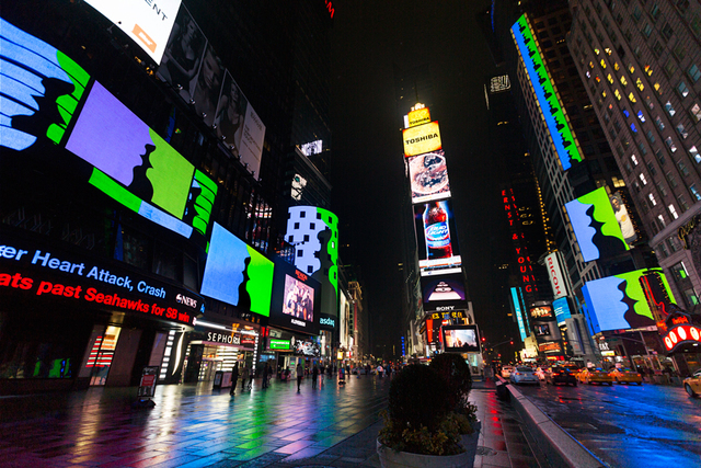 , 'Much Better Than This (Shown at Times Square, February 2015),' 2015, Upstream Gallery