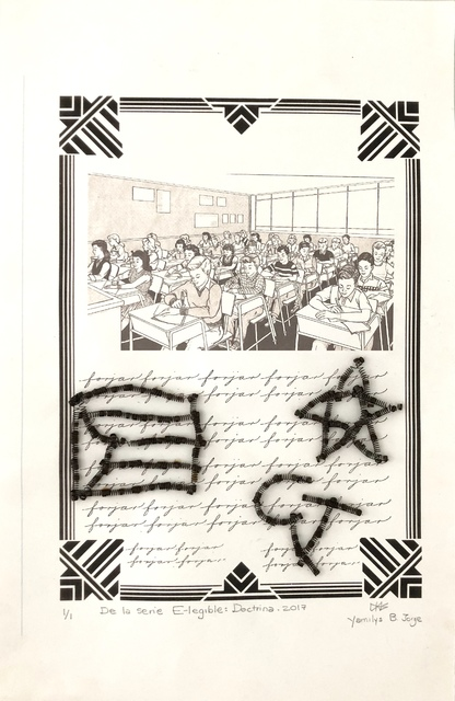 Yamilys Brito Jorge, 'Doctrina (Doctrine)', 2017, Thomas Nickles Project