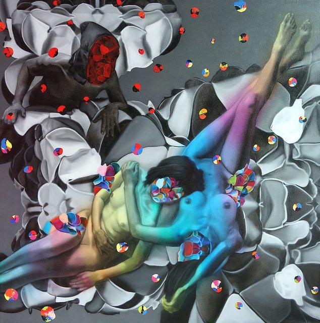 , 'Rainbow Girls,' 2015, Adler Subhashok Gallery Bangkok