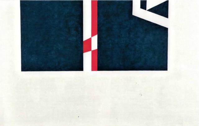 , 'Red Fault,' 1973, Waterhouse & Dodd