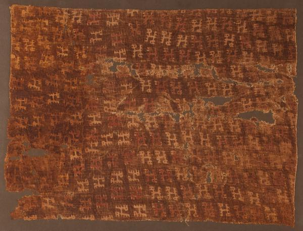 , 'Painted Llamas Textile,' 1100-1470, Muzeion Gallery