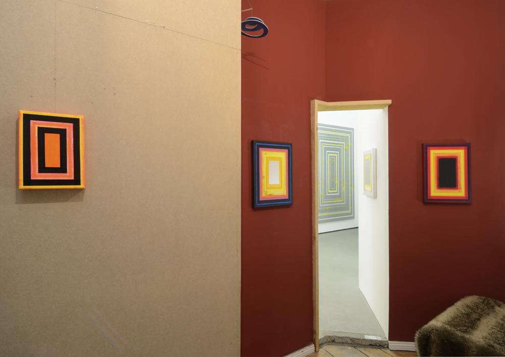 View of the exhibition; Schaulager towards Garten-Salon; photo: Jürgen Baumann