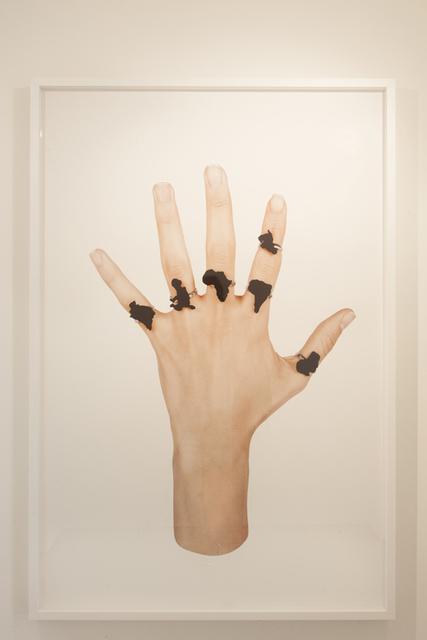 , 'Bricoler l'Incurable. Détails. Mano Negra,' 2015, Galerie Imane Farès