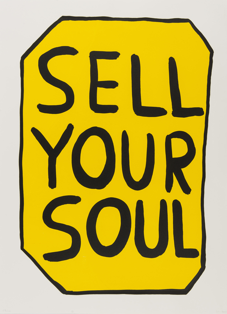 , 'Sell Your Soul,' 2012, RAW Editions