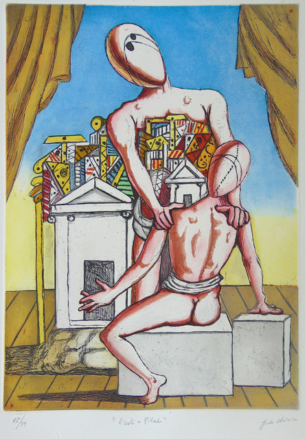 , 'Orestes and Pylades (Second Version)   Oreste e Pilade (Second Version),' 1970, Gilden's Art Gallery