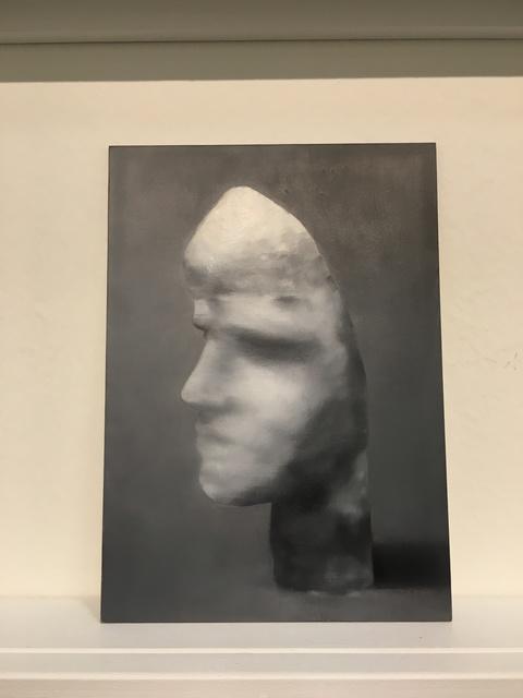 """, 'Postcards to AZ: Karel Niestrath: Portraitmaske """"Wilfried"""", 1927,' 2016, Josée Bienvenu"""