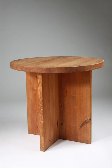 , 'Occasional table,' 1930's, Modernity