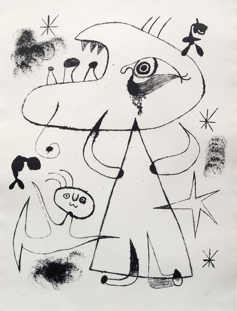Joan Miró, 'Barcelona: XXV', 1939, Sims Reed Gallery