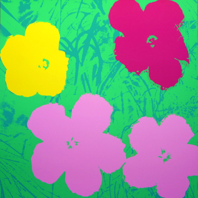 Andy Warhol, 'Flowers Green Pink - Sunday B. Morning (After)', ARTEDIO