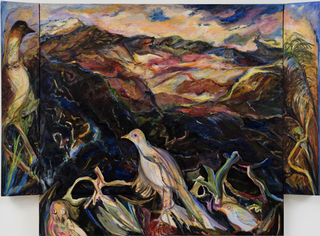 Diana Kurz, 'Haleakala with Birds', 2007, Anthony Horth Gallery