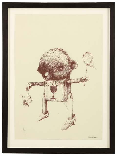 Ericilcane, 'Brown Teddy', 2006, Print, Screenprint on paper, Chiswick Auctions