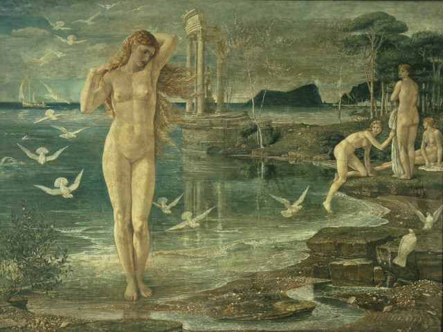 , 'The Renaissance of Venus,' 1877, Victoria and Albert Museum (V&A)