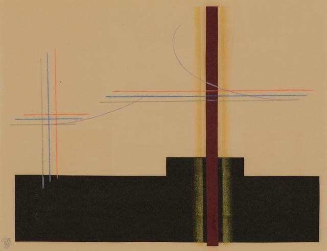 , 'Contrathemis #493,' 1941, Caldwell Gallery Hudson