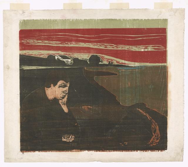 , 'Melankoli III (Melancholy III),' 1896, Munch Museum