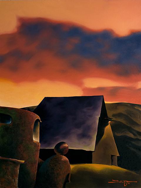 Z.Z. Wei, 'Sunset', Blue Rain Gallery