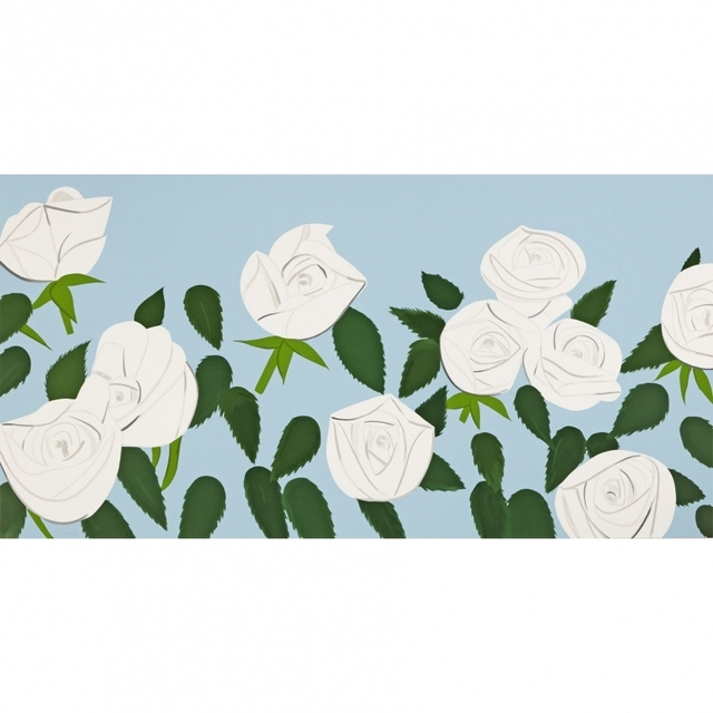Alex Katz, 'White Roses', 2014, Vogtle Contemporary