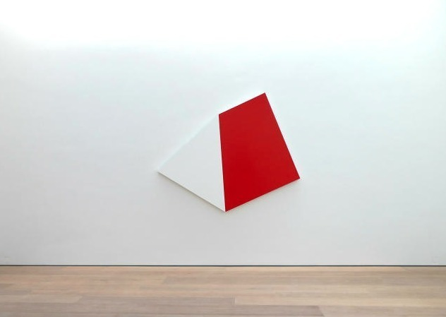 , 'Weiss Rot,' 2010, Kewenig Galerie