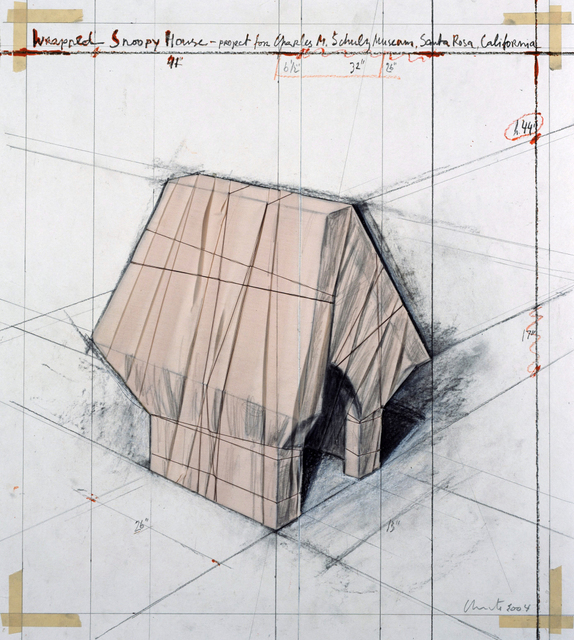 , 'Wrapped Snoopy House,' 2004, Aurifer AG