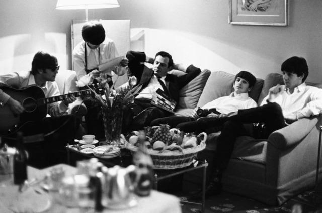 , 'Beatles and Brian Epstein, Paris ,' 1964, TASCHEN