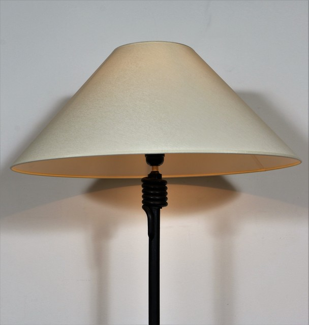 Jacques Adnet, 'Floor Lamp by Jacque Adnet (Attributed)', ca. 1950, Design/Decorative Art, Wrought iron, Avant-Garde Gallery