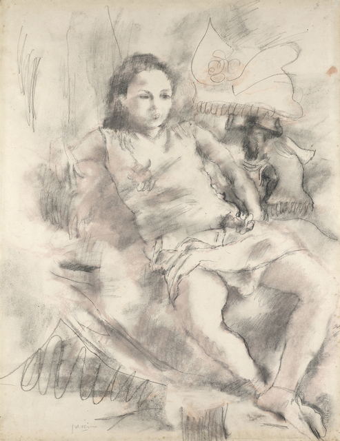 Jules Pascin, 'Simone', 1928, Jill Newhouse Gallery
