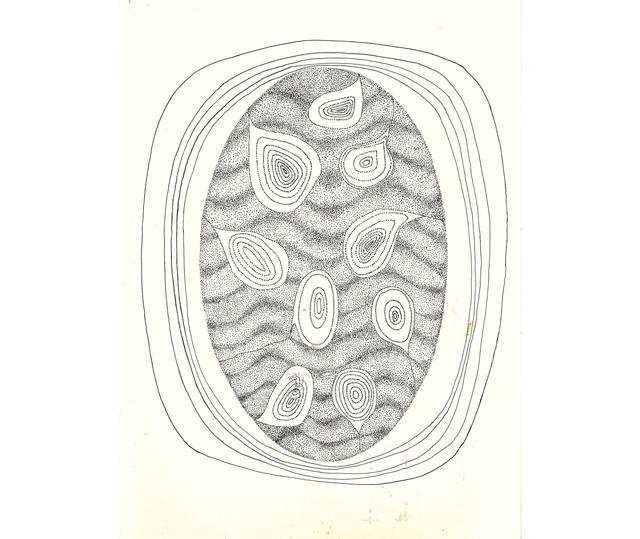Elda Cerrato, 'Sobre lo que ha de nacer II. Desde poesía de A. Pellegrini', 1972, Herlitzka + Faria