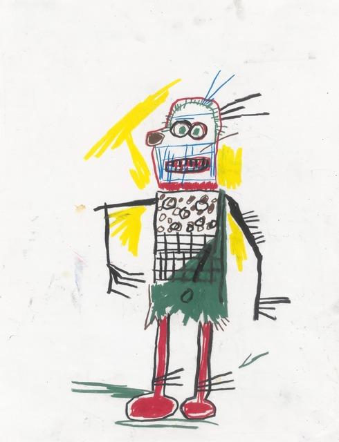 Jean-Michel Basquiat, 'Untitled', 1981, Yale University Art Gallery