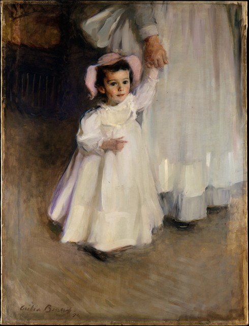 Cecilia Beaux, 'Ernesta (Child with Nurse)', 1894, The Metropolitan Museum of Art