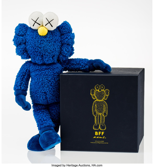 KAWS, 'BFF Companion (Blue)', 2016, Heritage Auctions