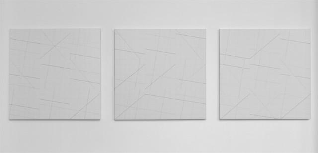 , '(1/6x3x3)x6,' 2017, Aki Gallery