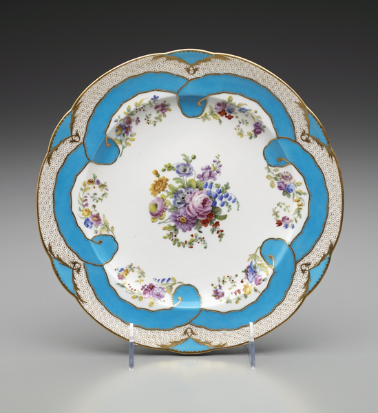 , 'Two Plates (Part of a Dessert Service),' 1782, The Frick Collection