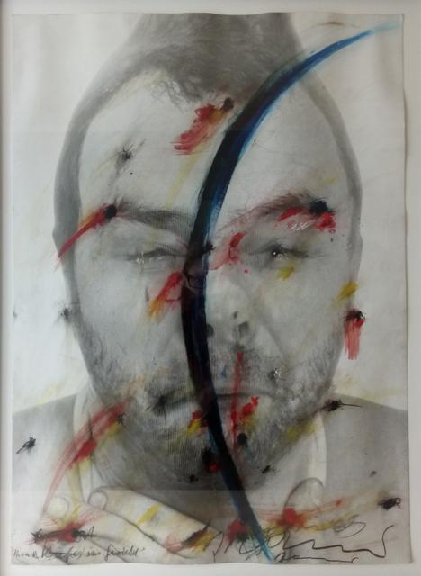 , 'Face Farce: Mond im Gesicht ,' ca. 1970, Galerie Brigitte Schenk